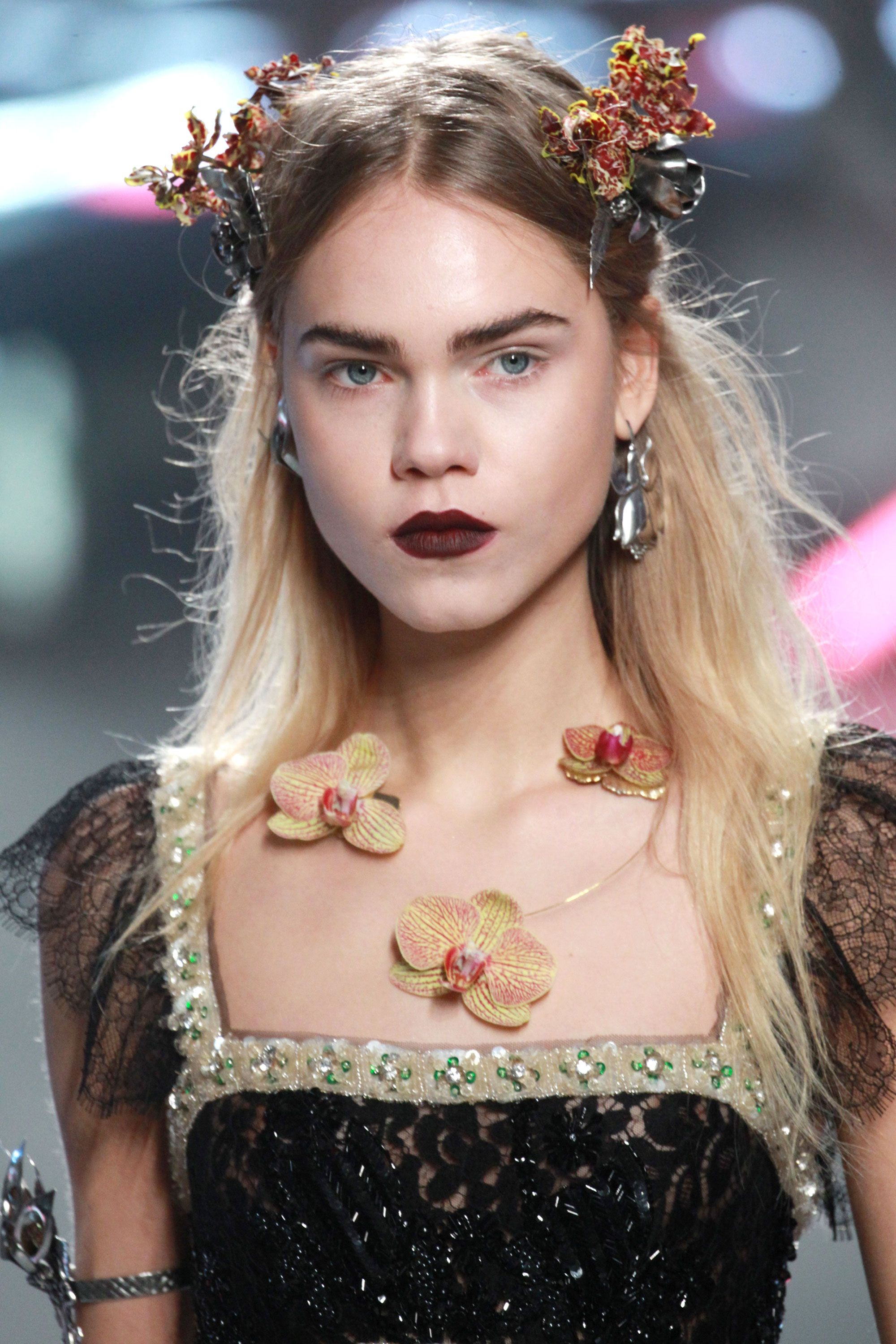 The Best Beauty Looks From Nyfw Fall 2016  Fall 2016 Hair And Makeup Trends