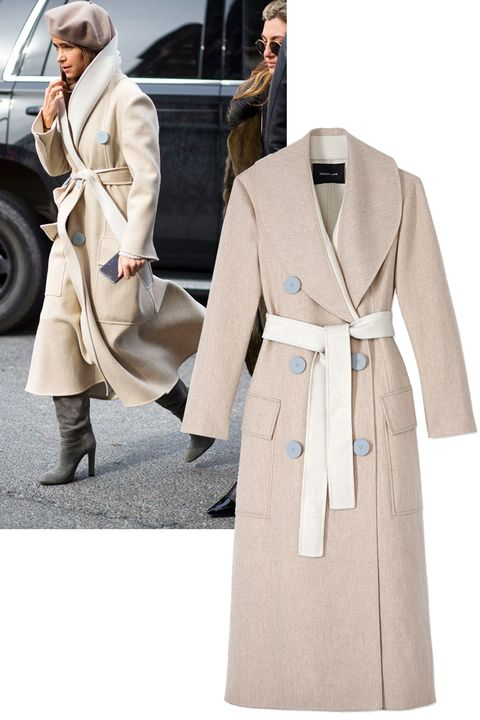 "<p>It's not to late to invest in a classic winter coat, your next-season self will thank you. First in line? This Derek Lam number spotted on Miroslava Duma. </p><p><em><strong>Derek Lam</strong> coat, $2,990, <strong><a href=""https://shop.harpersbazaar.com/designers/derek-lam/long-shawl-collar-coat-w-belt/"" target=""_blank"">shopBAZAAR.com</a></strong></em><span class=""redactor-invisible-space""><em>.</em><br></span></p>"