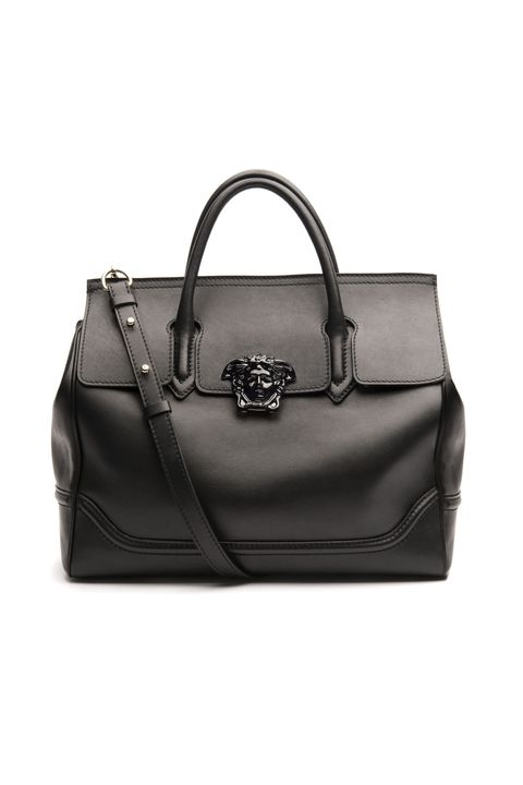 "<p>No need to check luggage for a two-day trip&#x3B; it's the <em>perfect </em>carry-on for an overnight jaunt, as well as a chic tote for an afternoon of business meetings or leisurely shopping. <em>Versace Palazzo Empire Leather Bag, $3,295, <a href=""http://us.versace.com/Palazzo-Empire-Leather-Bag/400_DBFF453-DSTVT,en_US,pd.html&cgid=142500#!%3Fprefn1%3Dsale%26prefv1%3Dfalse%26i%3D7%26color%3DKNJOC"" target=""_blank""><strong>versace.com</strong></a>.</em></p>"
