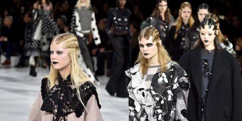 Human, People, Sleeve, Style, Street fashion, Fashion model, Youth, Fashion, Costume design, Blond,