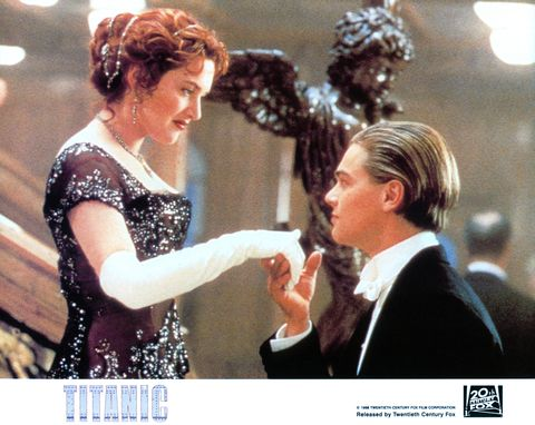 <p>Rose DeWitt meets Jack Dawson on the Titanic and the rest is movie history...</p>