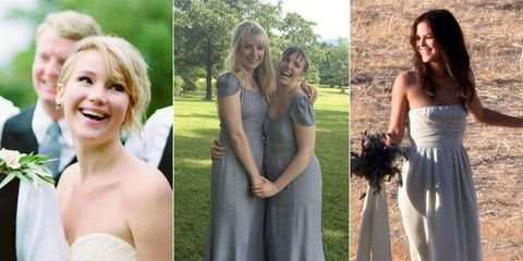 27 Times Celebrities Were Bridesmaids