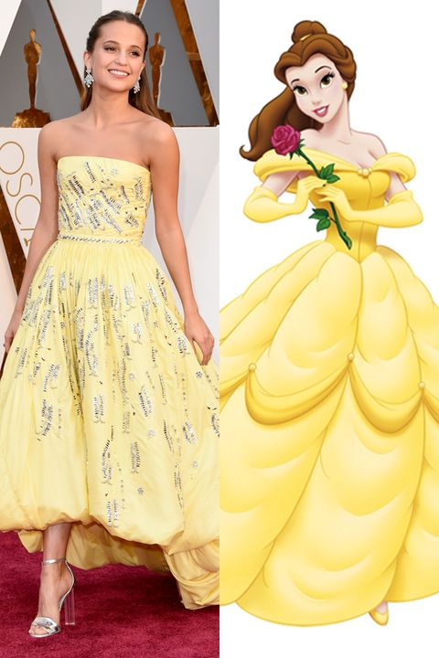 Yellow, Hairstyle, Dress, Sleeve, Shoulder, Formal wear, Style, One-piece garment, Gown, Fashion,