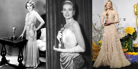 The Evolution of the Best Actress Winners' Gowns Through the Years
