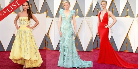 #TheLIST: The 10 Best Dressed at the 2016 Oscars
