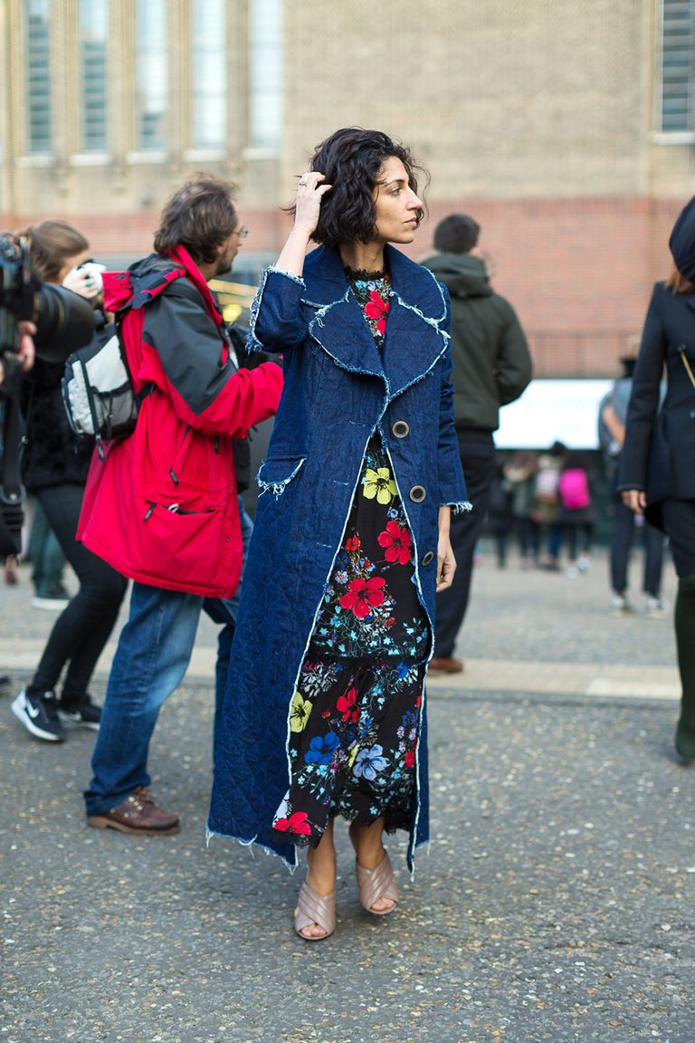 Best London Fashion Week Street Style Fall 2016 London Street Style