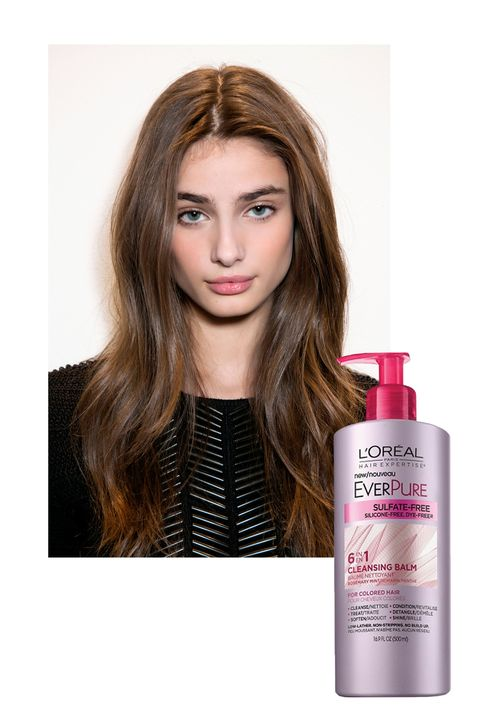 "<p>Shiny, healthy, commercial-worthy hair is easily the most luxurious look for spring. To achieve the same level of luster, try <a href=""http://www.lorealparisusa.com/en/products/hair-care/products/cleansing-conditioner/hair-expertise-everpure-cleansing-balm.aspx""><strong>L'Oréal Paris EverPure Cleansing Balm</strong></a> ($11.99), which nourishes dry, color-treated hair back to life. The low-lather cleansing conditioner softens and adds radiance.</p>"