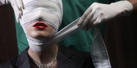 Jewellery, Fashion, Body jewelry, Costume accessory, Gesture, Costume, Necklace, Fashion design, Glove, Cuff,
