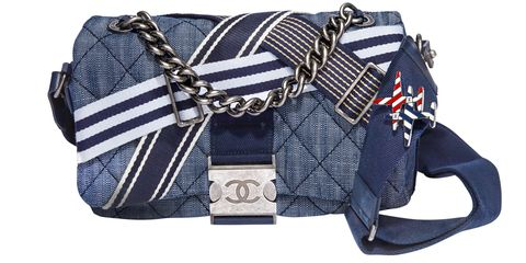 <p><strong>Chanel </strong>bag, $3,200, 800-550-0005. </p>