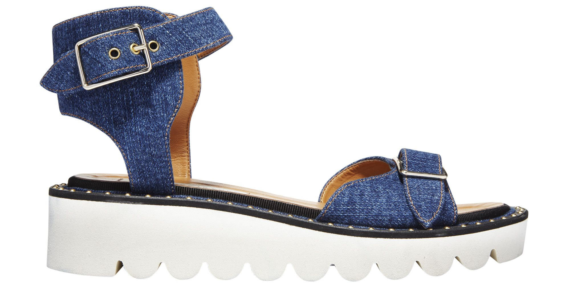 "<p><strong>Stella McCartney </strong>sandal, $965, <a href=""http://shopBAZAAR.com"" target=""_blank"">shopBAZAAR.com</a>. </p>"