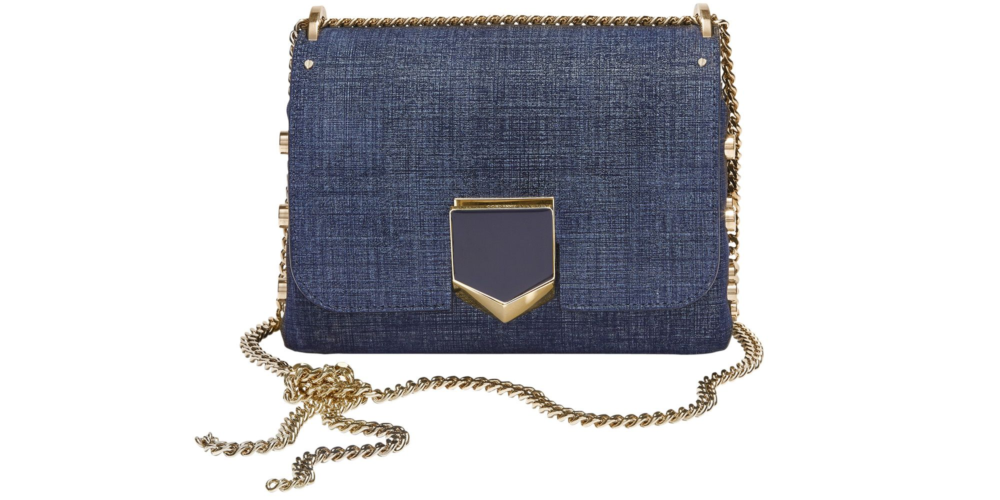 "<p><strong>Jimmy Choo </strong>bag, $1,450, <a href="" jimmychoo.com"" target=""_blank"">jimmychoo.com</a>. </p>"