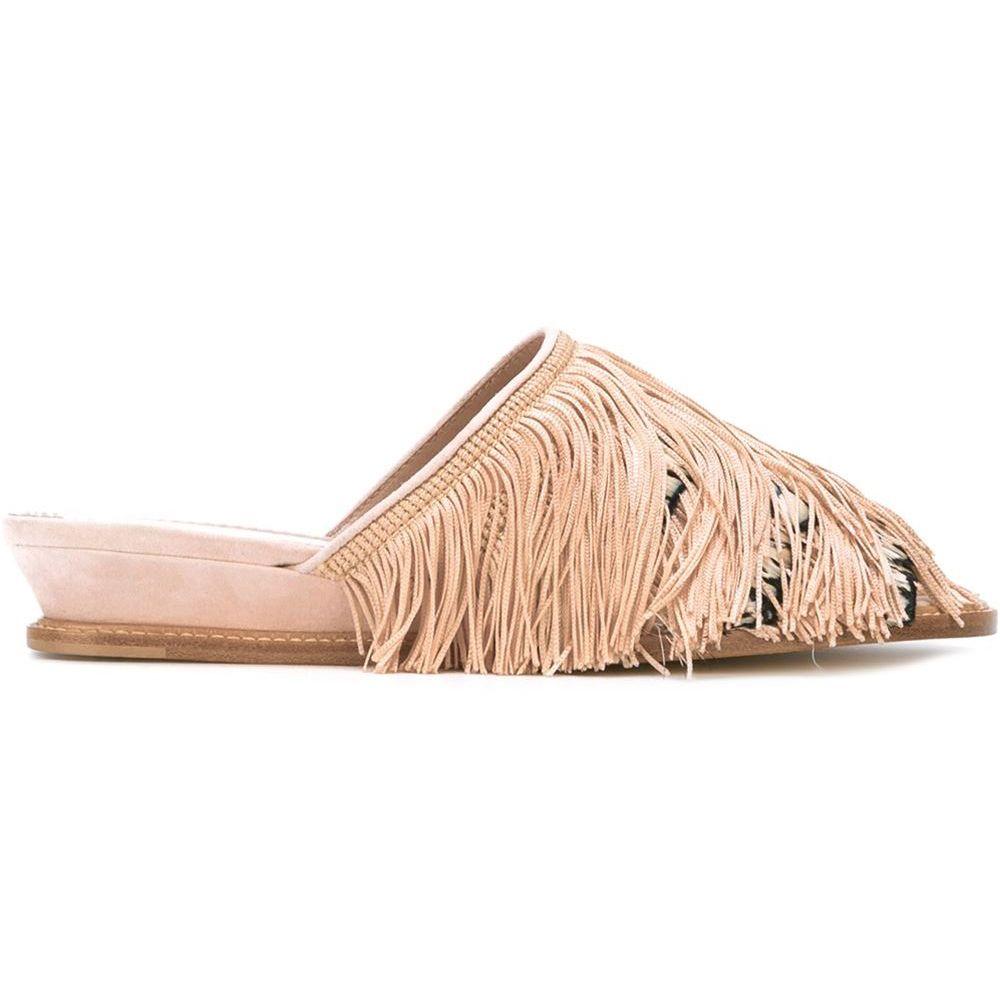 "<p><em>Aperlai sandals, $480, <a href=""http://www.farfetch.com/uk/shopping/women/aperlai--feathers-sandals-item-11358399.aspx?storeid=9436&from=1&ffref=lp_pic_6_6_"" target=""_blank"">farfetch.com</a>.</em> </p>"
