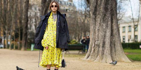 Sleeve, Window, Outerwear, Bag, Bird, Jacket, Coat, Style, Street fashion, Fashion accessory,