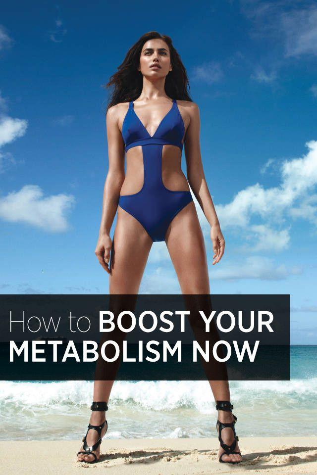 8 Ways To Rev Up Your Metabolism