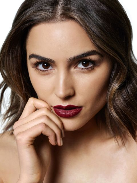 """<p><strong>Beauty motto?</strong></p><p>Less is more. I'm definitely a fan of finding one part of your face you want to highlight and toning everything else down so that feature can really pop.</p><p><strong>Best trick you learned backstage at pageants?</strong></p><p>Body makeup was so important. Combine a foundation with a moisturizer and something with illumination, put that all over your body, then set it with a finishing powder. I love Charlotte Tilbury Highlighter <a href=""""http://www.charlottetilbury.com/us/the-bar-of-gold.html?gclid=CLOR0unWvssCFUgkgQodGzEHKw"""" target=""""_blank"""">Powder</a>. </p><p><em><strong>Get the Look, as seen at <a href=""""http://www.harpersbazaar.com/beauty/makeup/g6416/spring-2016-makeup-trends/?slide=34"""" target=""""_blank"""">Anna Sui</a>, <a href=""""http://www.harpersbazaar.com/beauty/makeup/g6416/spring-2016-makeup-trends/?slide=35"""" target=""""_blank"""">Burberry</a> and <a href=""""http://www.harpersbazaar.com/beauty/makeup/g6416/spring-2016-makeup-trends/?slide=39"""" target=""""_blank"""">Miu Miu</a>:</strong> Layer NARS Audacious Lipstick in <a href=""""http://www.narscosmetics.com/USA/liv-audacious-lipstick/0607845094791.html?cm_mmc=SEM-_-Google-_-NRE_G_USA_PLA_PLA_SHOPPING-_-PLA&gdftrk=gdfV211816_a_7c3537_a_7c13437_a_7c0607845094791&gclid=CIDVkNDKvssCFdgIgQodHBAHzg"""" target=""""_blank"""">Liv</a> over M.A.C. Lip Pencil in <a href=""""http://www.maccosmetics.com/product/13852/340/Products/Makeup/Lips/Lip-Pencil/Lip-Pencil#/shade/Cherry"""" target=""""_blank"""">Cherry</a>. </em></p>"""
