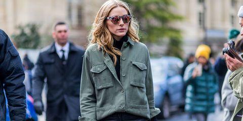 Eyewear, Glasses, Vision care, Sleeve, Sunglasses, Textile, Coat, Outerwear, Jacket, Street fashion,