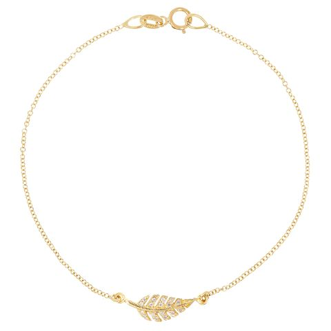 "<p>""When it comes to jewelry, I like to wear a mix of bracelets, mostly Jen Meyer and some vintage.""</p><p><em>Jennifer Meyer bracelet, $800. Barneys New York; 888-8-BARNEYS.</em><em></em></p>"