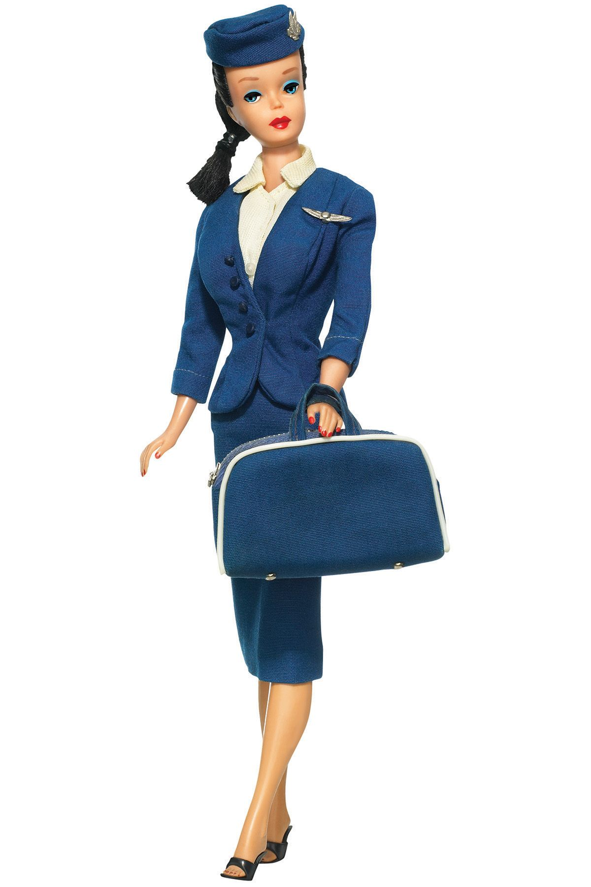 <p>Barbie flight attendant</p>