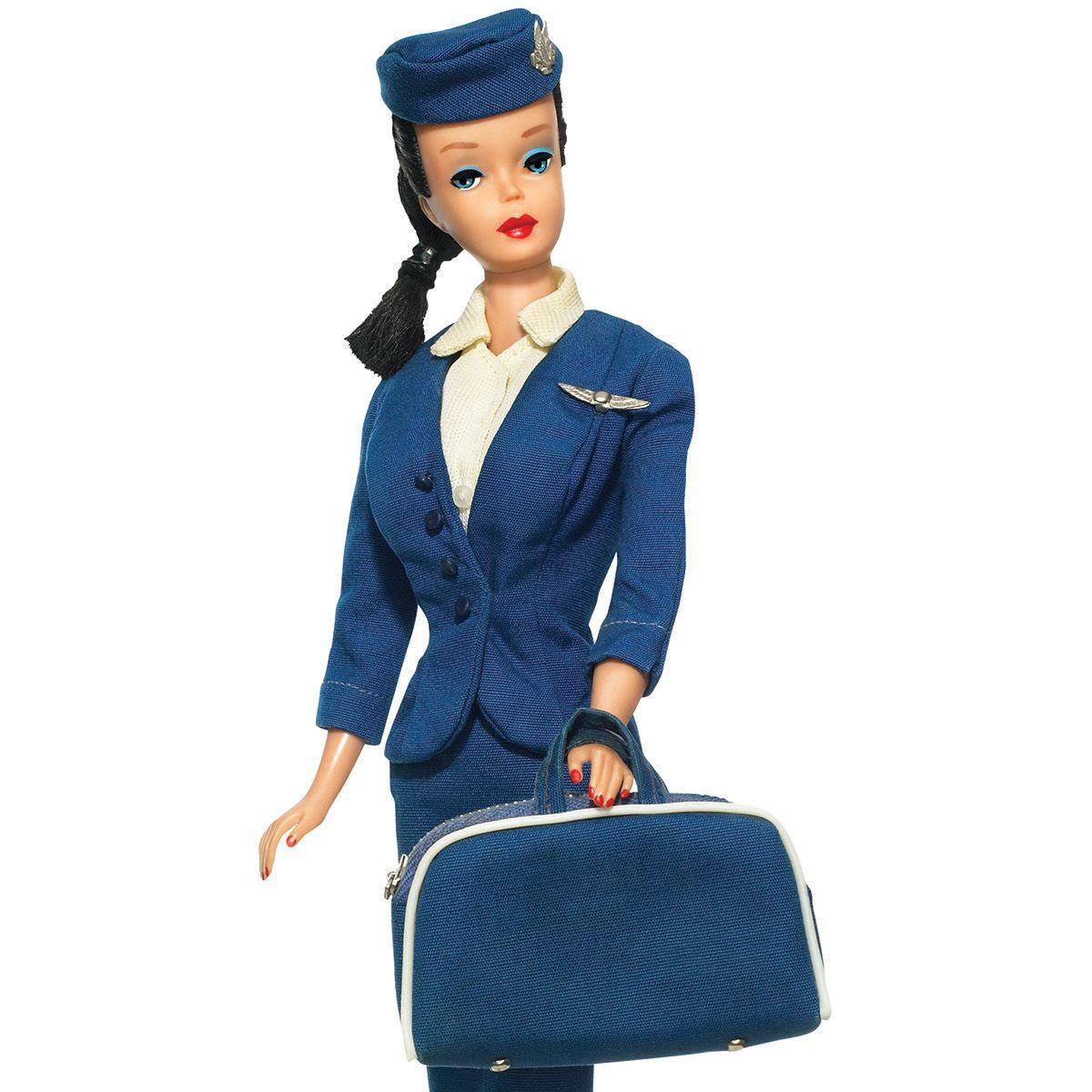 <p>Barbie flight attendant</p>