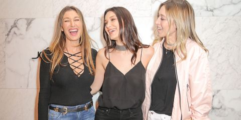 Barneys Celebrates Its Downtown Flagship and Joe's Jeans Parties with Bella Hadid
