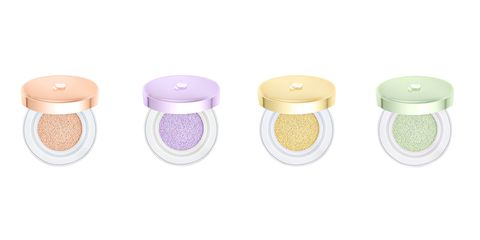 """<p><strong>Lancôme</strong> Miracle CC Cushion Color Correcting Primer Cushion, $39.50, <a href=""""http://www.lancome-usa.com/Miracle-CC-Cushion/5675679,default,pd.html"""" target=""""_blank"""">lancome-usa.com</a>.</p>"""