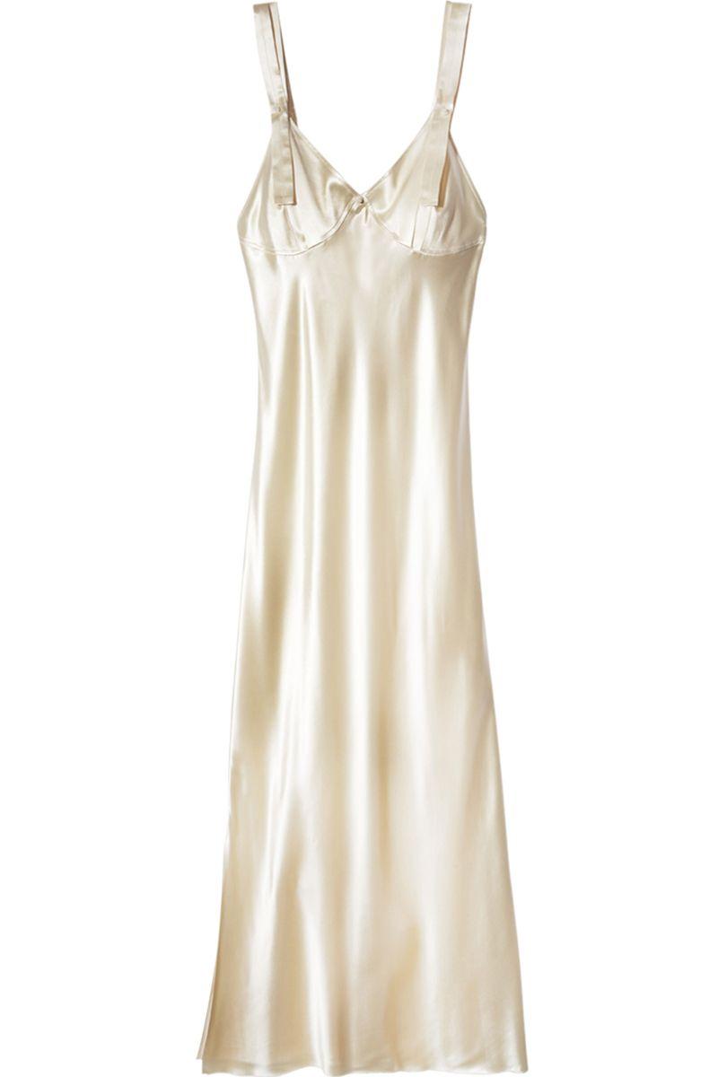 """<p><em>Calvin Klein dress, $2,495, <a href=""""https://shop.harpersbazaar.com/designers/c/calvin-klein/slip-dress-7018.html"""" target=""""_blank"""">shopBAZAAR.com</a>.</em> </p>"""