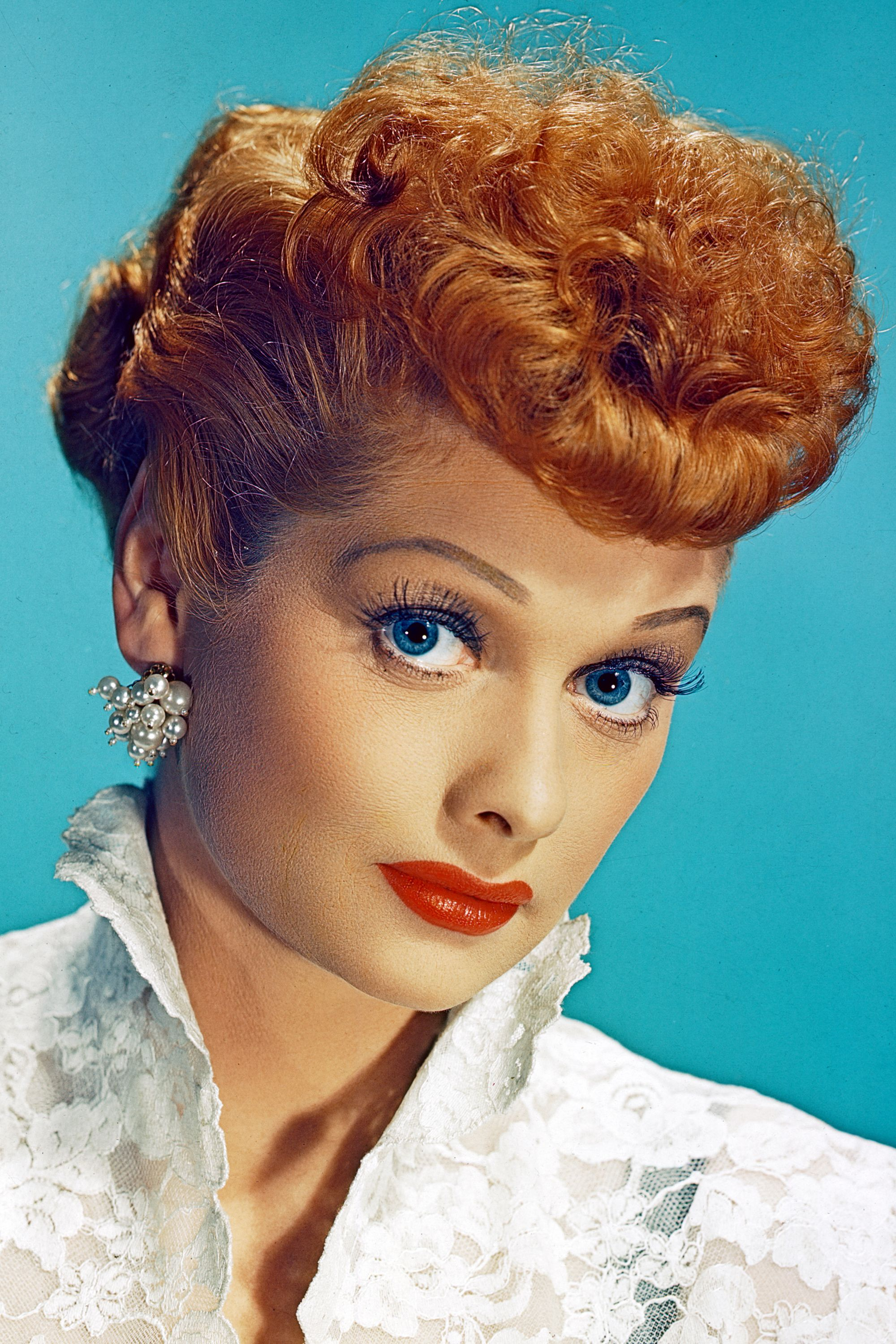 <p>Lucille Ball's fiery red curls were as big of a hit as her over-the-top personality on <em>I Love Lucy</em>.</p>