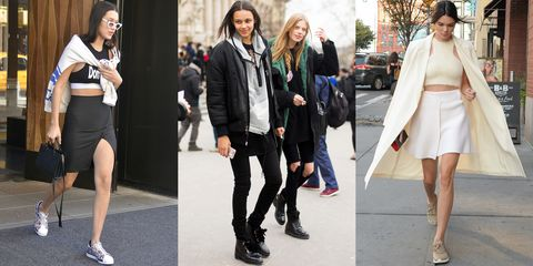 <p>All trends need muses, and the lineup of Bella Hadid, Binx Walton and Kendall Jenner are just that. Whether they're running between fashion shows or heading for a night out, these models know their way around an <em>athleisure </em>look. </p><p><span></span></p><p><span></span></p>
