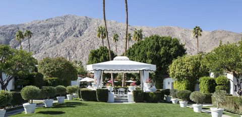 "<p>Designed in the quintessential Palm Springs mod-meets-mid-century style, this <a href=""http://www.avalon-hotel.com/palm-springs"" target=""_blank"">refuge in the desert</a> places the focus on balancing the city's infamous indulgences with a welcome dose of wellness. The on-site restaurant, <a href=""http://www.avalon-hotel.com/palm-springs/dining/chi-chi"" target=""_blank"">Chi Chi</a>, serves up fresh, California cuisine and the spa, <a href=""http://www.avalon-hotel.com/palm-springs/estrella-spa/overview"" target=""_blank"">Estrella</a> (the initial name of the hotel itself), features a menu of calming, soothing and holistic treatments to relive the stress and strain of late nights out.<em> From $320 per night</em>. <br></p>"