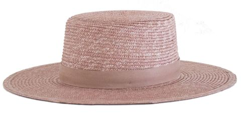 Hat, Brown, Line, Headgear, Costume accessory, Tan, Beige, Material property, Costume hat, Fedora,
