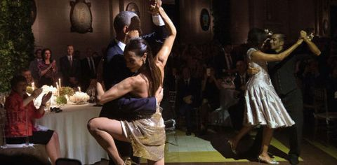 Watch President Obama and the First Lady Dance the Tango in Argentina