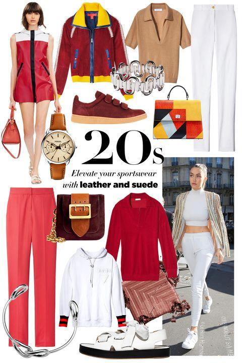 Clothing, Sleeve, Collar, Pattern, Textile, Red, White, Style, Fashion, Street fashion,