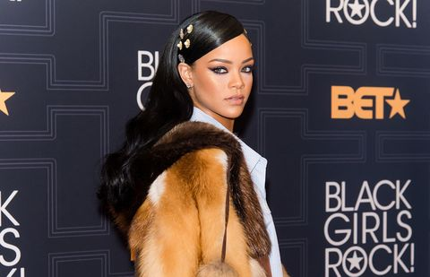 Rihanna Just Wore the Most Unconventional Red Carpet Look