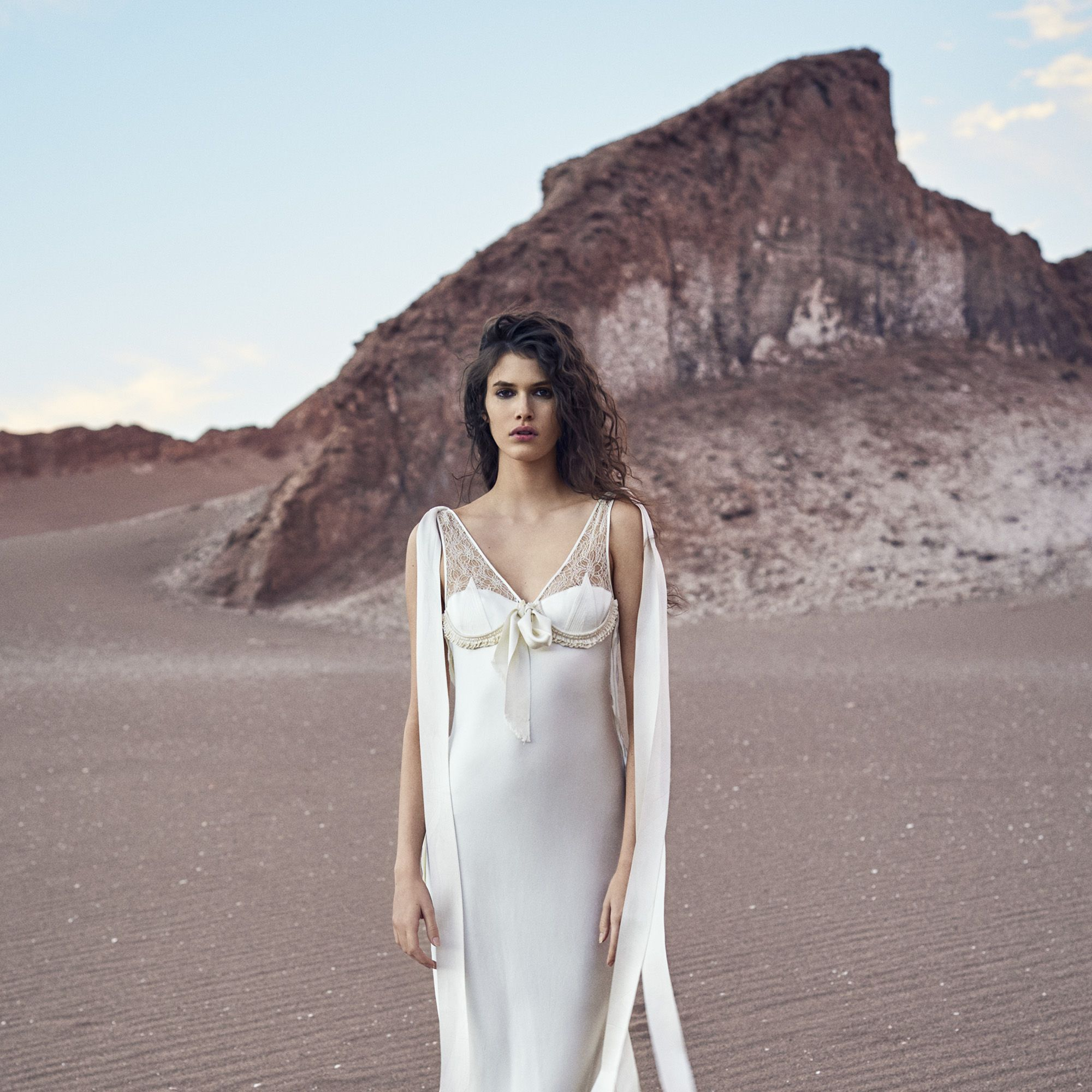 <p><strong>Balenciaga</strong> dress, $6,300, 212-206-0872&#x3B; <strong>Louis Vuitton</strong> boots, price upon request, 866-VUITTON.</p>