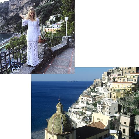 "<p>""I'm going back to Positano, Italy, because it's my dream locale; all sea, good eats and chill vibes. ‹I may be an earth sign but I'm all about water."" - Kerry Pieri, Digital Fashion/Features Director<br><br></p>"