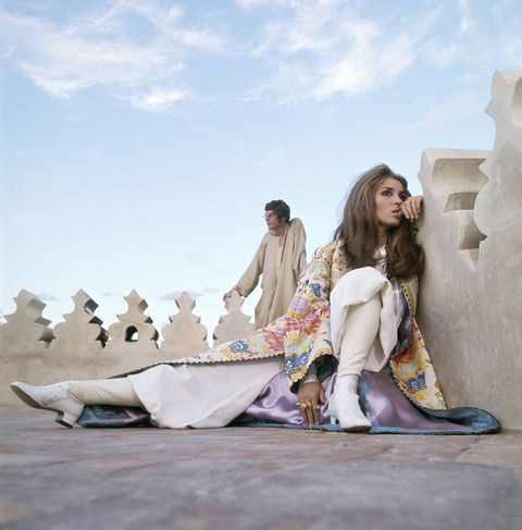 <p>I'm all about Talitha Getty-inspired robes and kimonos over everything from denim to swim suits. Open the Kimono and Olivia von Halle both design winners. </p>