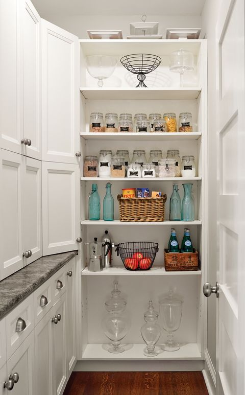 <p>Ask any cooks in the family and they'll say a pantry is a kitchen must-have. Not only does it help you display all your dry foods without having to open multiple cabinets, but it's also a hugely efficient use of space.</p>