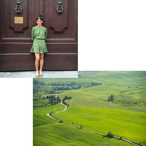 "<p>""I'm heading to Florence, Italy, for a wedding and then plan on traveling around Tuscany. Florence is truly one of my favorite cities!"" - Amanda Alagem<span class=""redactor-invisible-space"">, Senior Accessories Editor</span></p>"