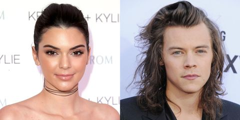 Kendall Jenner Spotted Out to Lunch with Harry Styles