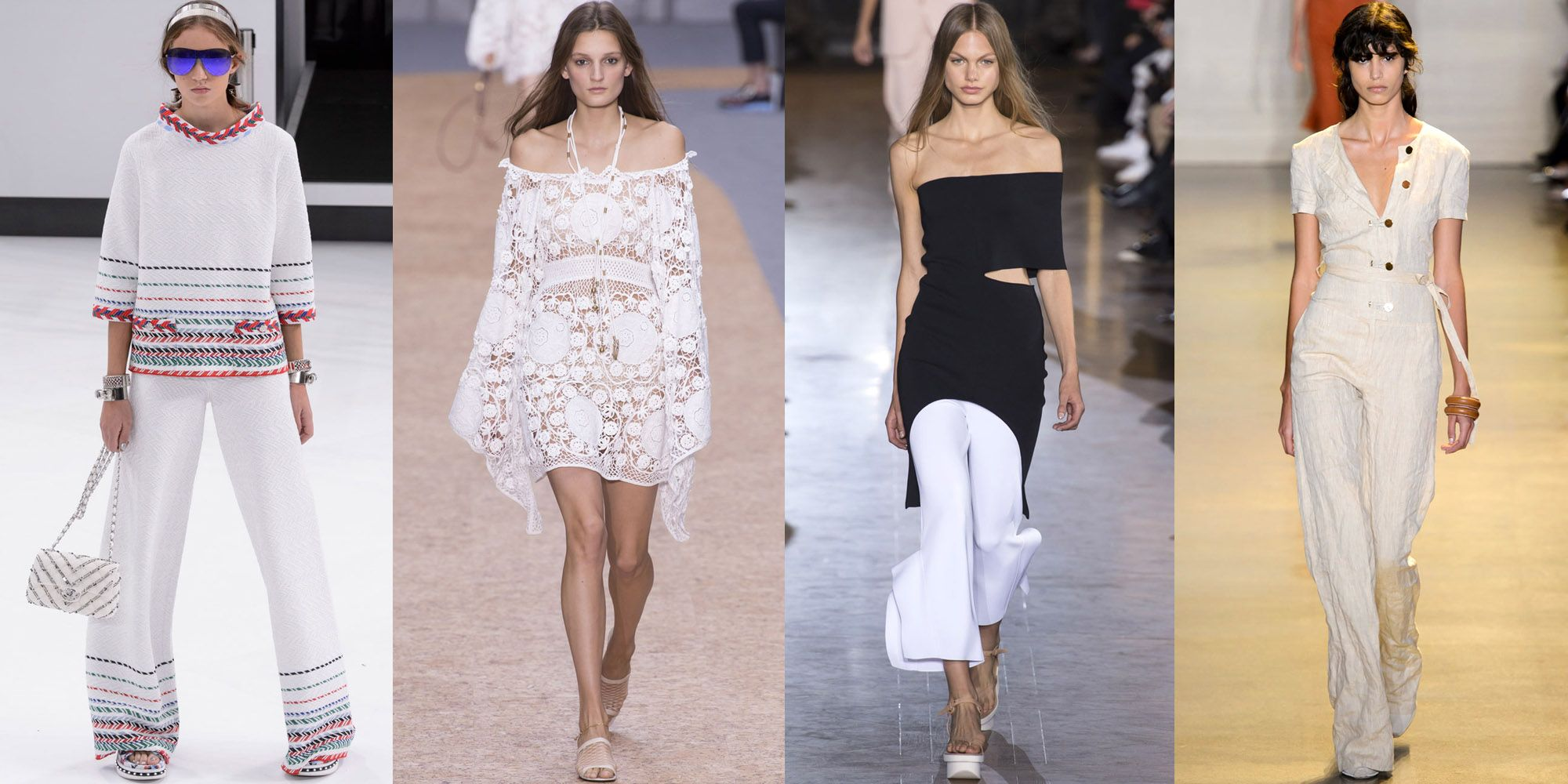 <p>My spring sartorial plan involves a lot of light colors and looks that are more beach than city without sacrificing elevated style. Chanel, Chloé, Stella McCartney and Altuzarra deliver. </p>