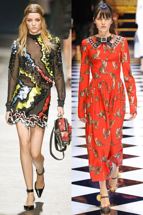 <p><strong>Runway picks: </strong>Dolce & Gabbana and Versace. </p>