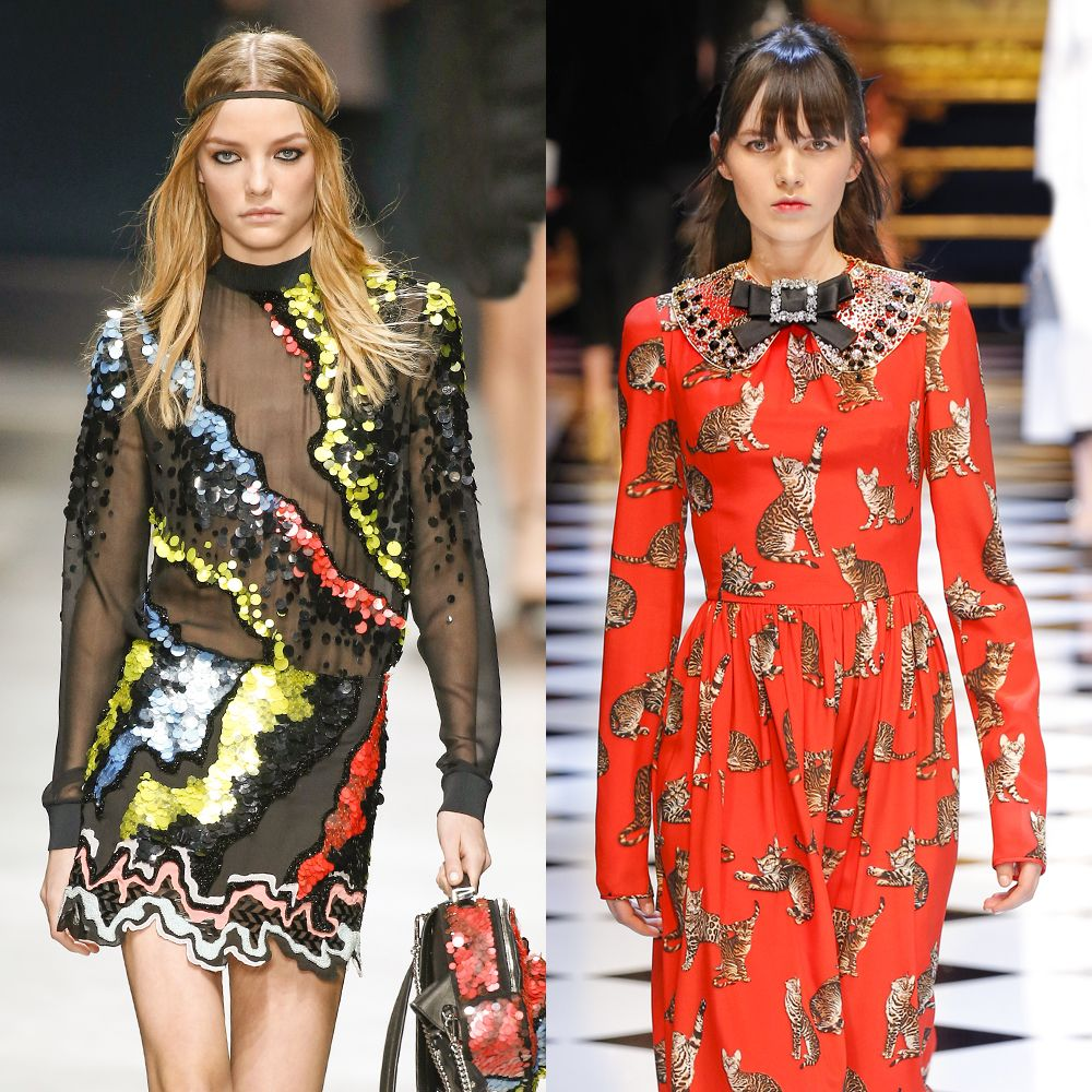 <p><strong>Runway picks: </strong>Dolce & Gabbana and Versace. </p>