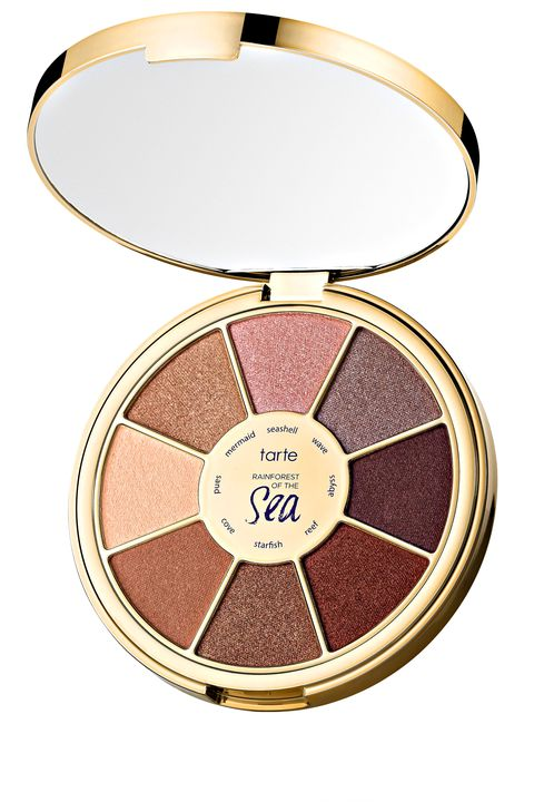 "<p><strong>Tarte</strong> Rainforest of the Sea Eyeshadow Palette, $34, <a href=""http://www.sephora.com/"" target=""_blank"">sephora.com</a>.</p>"