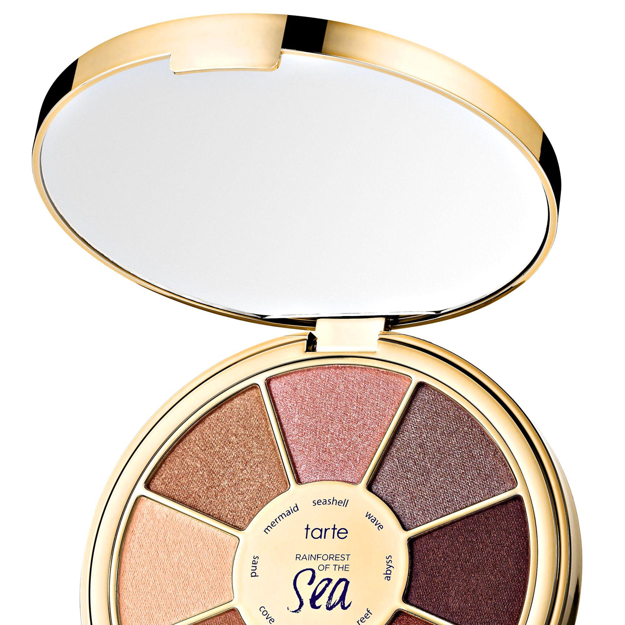 "<p><strong>Tarte</strong> Rainforest of the Sea Eyeshadow Palette, $34, <a href=""http://www.sephora.com/"" target=""_blank"">sephora.com</a>.</p>"