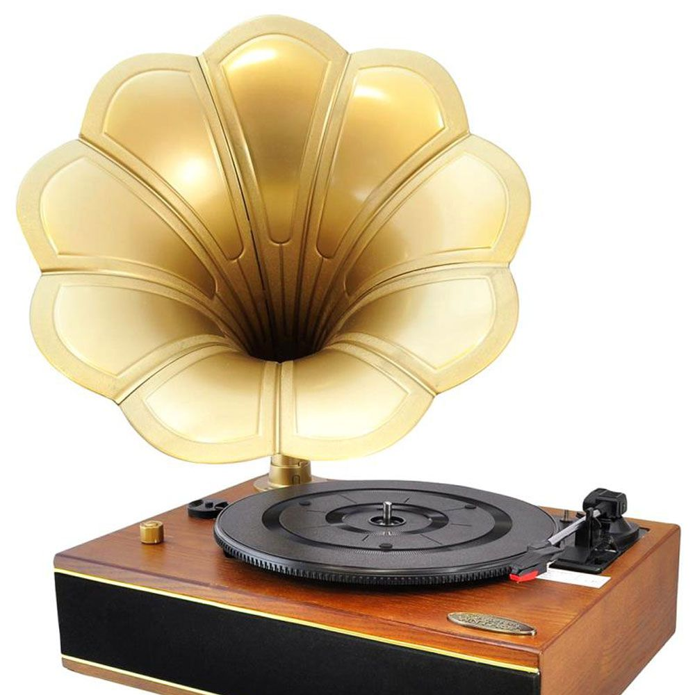 "<p><strong>Pyle</strong> turntable, $129, <a href=""http://www.amazon.com/Pyle-PNGTT12RBT-Bluetooth-Gramophone-Phonograph/dp/B00YEH14FK/ref=sr_1_10?ie=UTF8&qid=1460748041&sr=8-10&keywords=pyle+record+player"" target=""_blank"">amazon.com</a>.</p>"