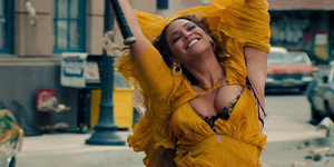"""<p>          On April 23, Beyoncé's visual album <em data-redactor-tag=""""em"""" data-verified=""""redactor"""">Lemonade</em> premiered on HBO. After the hour-long movie aired, the video was made available for download on iTunes and Tidal. The album inspired a slew of <a href=""""http://www.popsugar.com/celebrity/Best-Beyonce-Lemonade-Memes-41078158#photo-41078158"""" data-tracking-id=""""recirc-text-link"""" data-external=""""true"""">social media memes</a> and some great <a href=""""https://www.instagram.com/p/BMNPXddFikS/?taken-by=morganmackenzz&amp;hl=en"""" data-tracking-id=""""recirc-text-link"""" data-external=""""true"""">Halloween costumes</a>. The lemon emoji has never been more popular and the name Becky has never been more unpopular. </p>"""