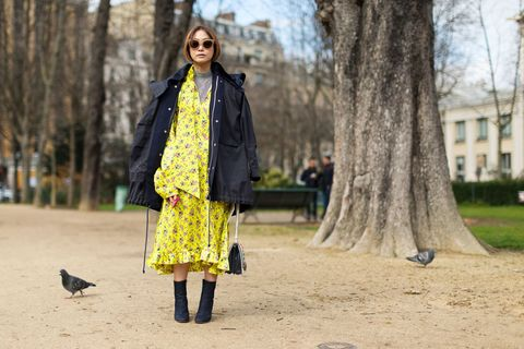 <p>Newcomer Vetements is making waves for more than streetwear—the collective-designed brand has put its stamp on interestingly shaped floral dresses as well. </p>