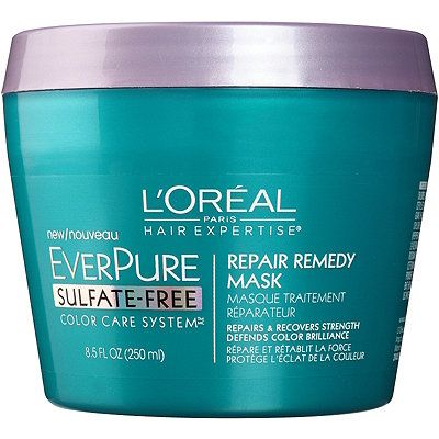 "<p>A weekly infusion of moisture and vitamins does for your parched strands what a hot Vinyasa class or a cocktail with your best friend does for your soul. L'Oréal Paris hairstylist Mara Roszak suggests slathering strands with a mask before you shower, then popping on a shower cap and going about your business. ""The longer you leave the mask on, the greater the benefits,"" she says. Try<strong> <a href=""http://www.ulta.com/ulta/browse/productDetail.jsp?productId=xlsImpprod13762315&skuId=2298439&cmpid=PS_Non!google!Product_Listing_Ads&cagpspn=pla&CAWELAID=330000200000484036&catargetid=330000200000332043&cadevice=c&gclid=CjwKEAjwi9K4BRCQzq7d1c6A_XASJABueAO2gDOtagOxZaOLjQHvsdDpyO12Rh5YAGL3QneJMxl33RoClPPw_wcB"">L'Oréal   EverPure Repair Remedy Mask</a> </strong>($9). <strong> </strong></p>"