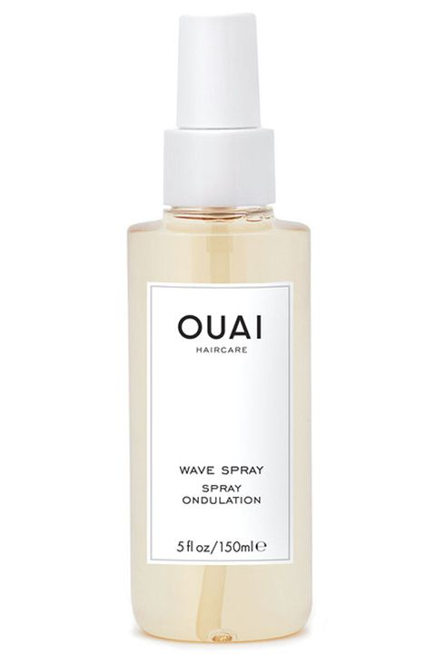 "<p><em>Celebrity hairstylist and founder of </em><a href=""http://theouai.com/"" target=""_blank""><em>OUAI Haircare</em></a></p><p>""The one product that I love for desert island hair from <a href=""http://theouai.com/products/wave-spray"" target=""_blank"">OUAI is the Wave Spray</a> ($26). It is essential! Most sea salt sprays are drying because the salt actually dries out your strands, so you'll find that you'll have to use it in combination with a hair oil to get the results you'll want. That is not the case with OUAI Wave Spray, which actually uses rice protein to create texture in the hair instead of salt. Your strands will love it.<span class=""redactor-invisible-space"">""</span></p>"