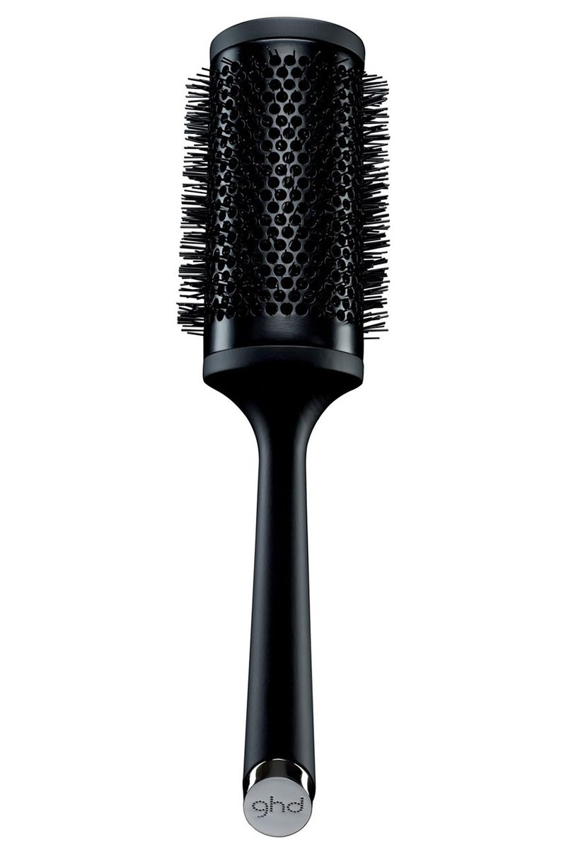 """<p>Medium-length hair will be left with major volume at the end of a blowout with this brush, while longer-haired women will find their usual time gets cut in half since the ceramic barrel retains heat. </p><p><strong>ghd</strong> Ceramic Vented Radial Brush Size 4, $53, <a href=""""http://shop.nordstrom.com/s/ghd-ceramic-vented-radial-brush-size-4-55mm/3880641?cm_mmc=Google_Product_Ads_pla_online-_-datafeed-_-women%3Ahair_accessories%3Ahair_tool-_-885867&amp%3Bcountry=US&amp%3Bcurrency=USD&mr%3AreferralID=253f7d25-070f-11e6-a988-005056946dac&gclid=COOh95HIncwCFRFZhgodbP4CjQ"""" target=""""_blank"""">nordstrom.com</a>.</p>"""